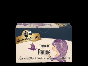 Yogaveda Pause Kamillenblüte-Lavendelblüte