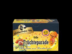 Gelbe Früchteparade