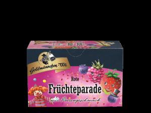 Rote Früchteparade