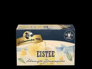 Eistee Schwarztee Zitronensorbet